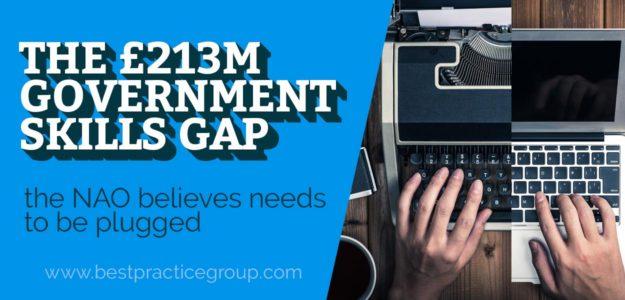 £213m Government Skills Gap