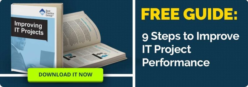 Improving IT Projects - Free ebook download, click here!