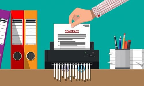 terminate supplier contract